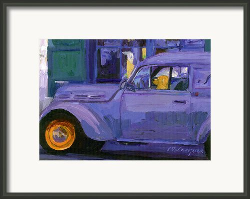 Parallel Parking Framed Print By Michael Jacques