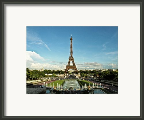 Paris Framed Print By Dian Qi