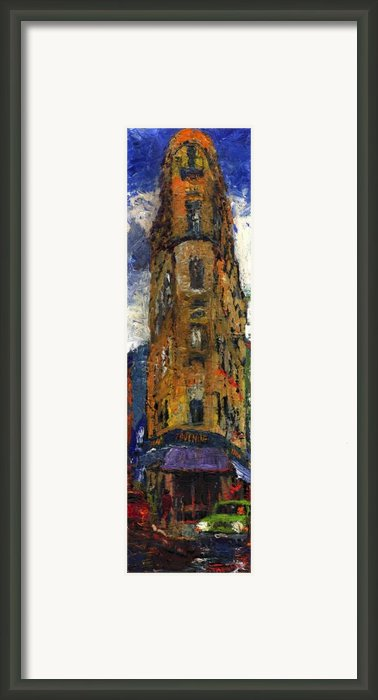 Paris Hotel 7 Avenue Framed Print By Yuriy  Shevchuk