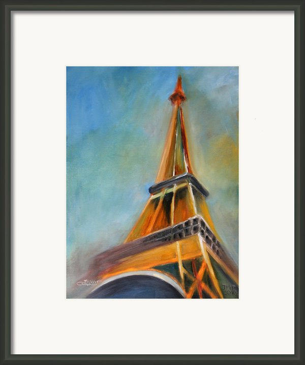 Paris Framed Print By Jutta Maria Pusl