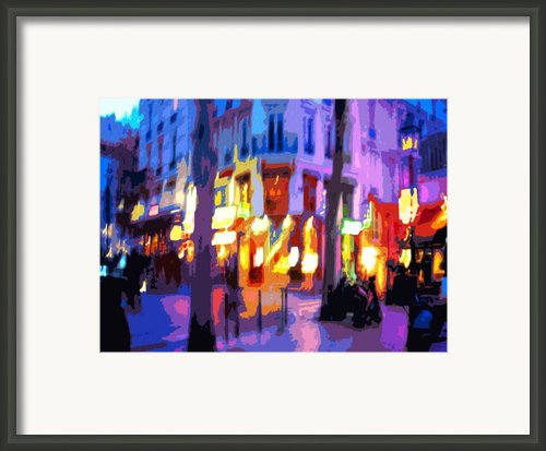 Paris Quartier Latin 02 Framed Print By Yuriy  Shevchuk