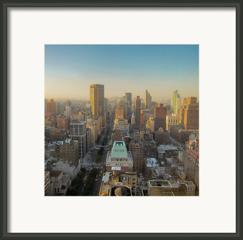 Park Avenue Framed Print By Patrick Davidson-locke