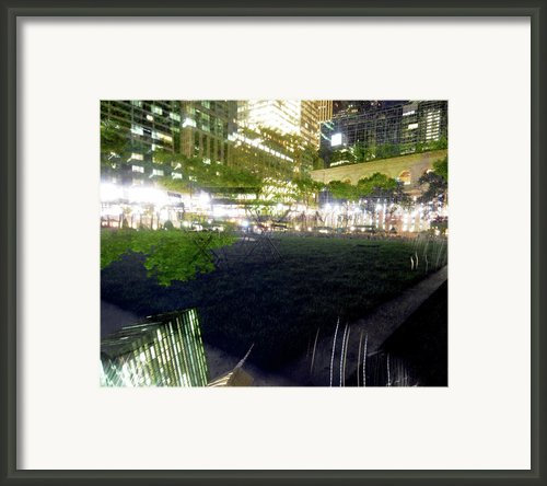 Park Within A Park Framed Print By Mike Lindwasser Photography