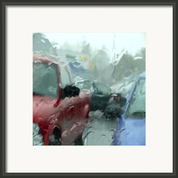 Parking Lot Framed Print By Mike Mcglothlen