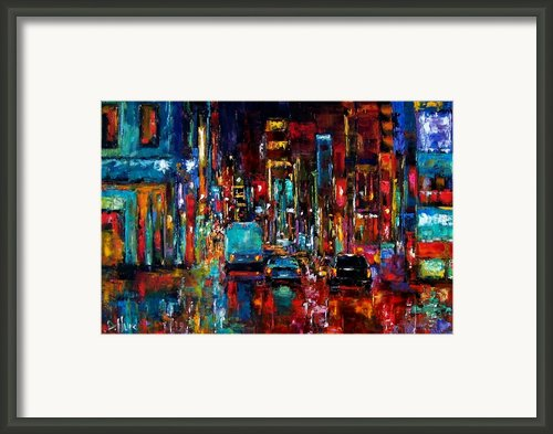 Party Of Lights Framed Print By Debra Hurd