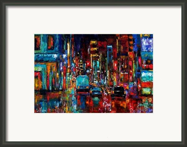 Party Of Lights Framed Print By Debra Hurd