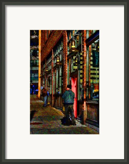 Passing Time Framed Print By David Patterson