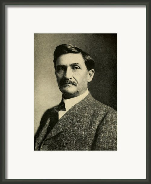 Pat Garrett 1850-1908, Sheriff Framed Print By Everett