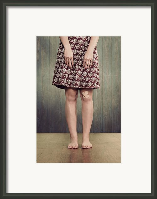 Patches Framed Print By Joana Kruse