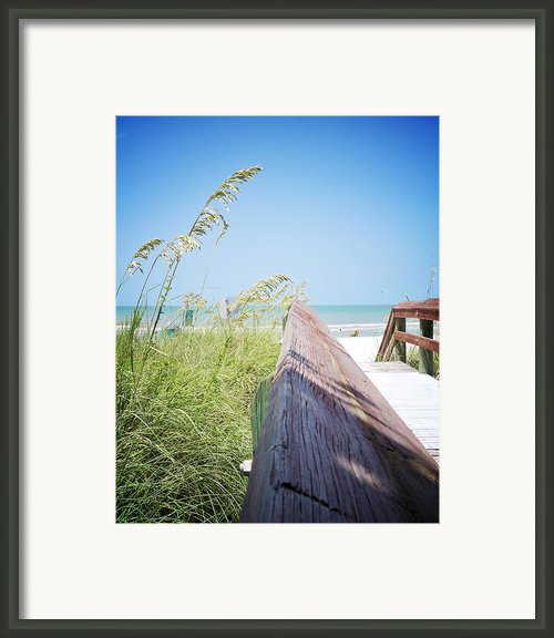 Path To Relaxation Vanilla Pop Framed Print By Chris Andruskiewicz