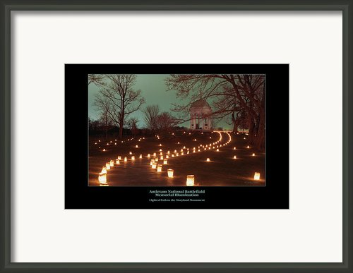 Path To The Md Monument 07 Framed Print By Judi Quelland