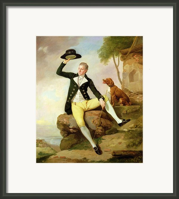 Patrick Heatly Framed Print By Johann Zoffany