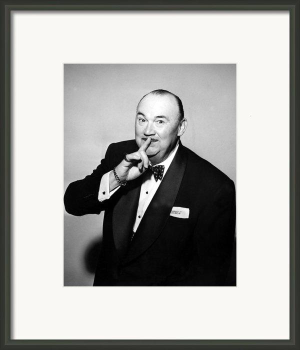 Paul Whiteman, Bandleader, Early 1950s Framed Print By Everett