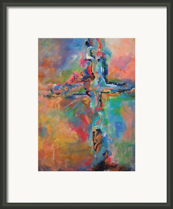 Peace Accord Framed Print By Deb Magelssen