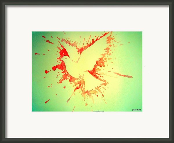 Peace Made By War Framed Print By Paulo Zerbato
