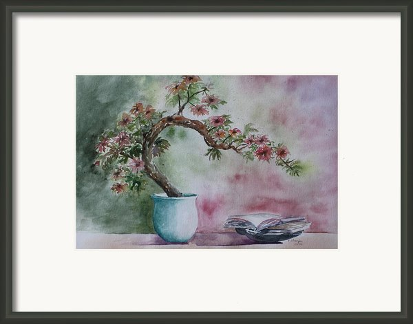 Peace Of Mind Framed Print By Patsy Sharpe