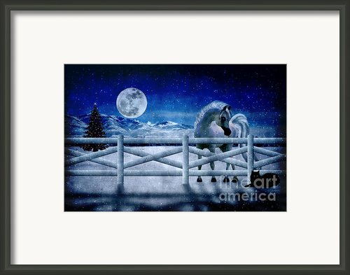 Peace On Earth Framed Print By Megan Noble