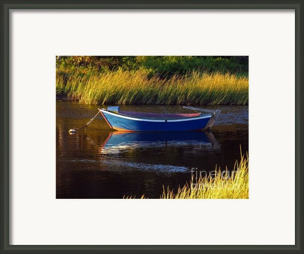 Peaceful Cape Cod Framed Print By Juergen Roth