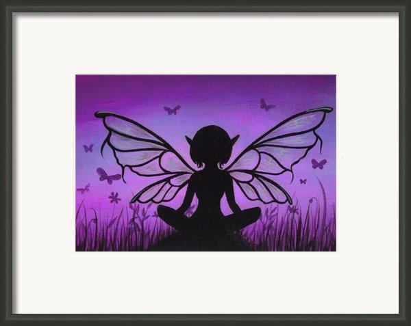 Peaceful Meadows Framed Print By Elaina  Wagner