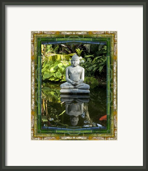 Peaceful Reflection Framed Print By Bell And Todd
