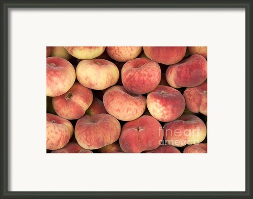 Peaches Framed Print By Jane Rix