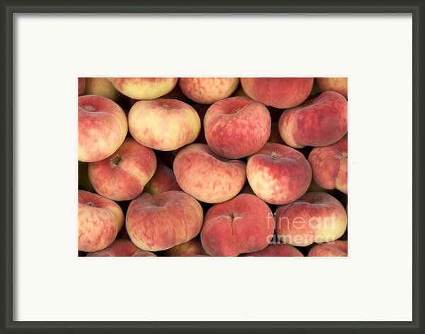 Peaches Framed Print By Jane Rix
