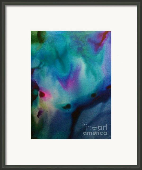 Peacock Framed Print By Joyce Auteri