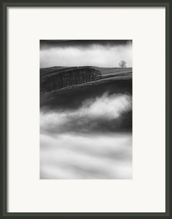 Peak District Landscape Framed Print By Andy Astbury