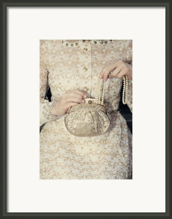 Pearls Framed Print By Joana Kruse