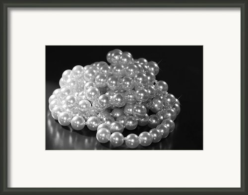 Pearls Framed Print By Rosi Lorz
