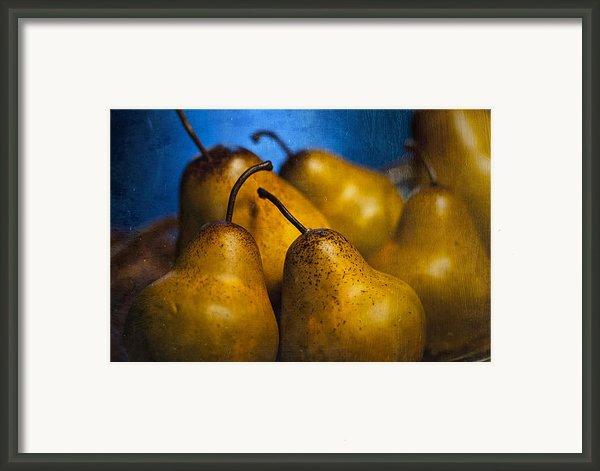 Pears Waiting Framed Print By Scott Norris