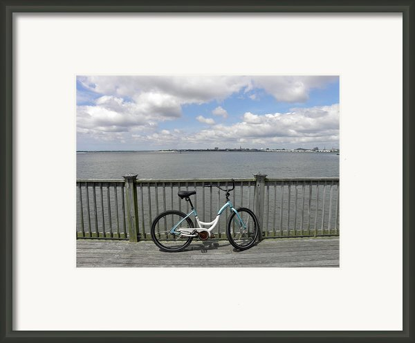 Pedal Pusher Framed Print By Diane Barrett