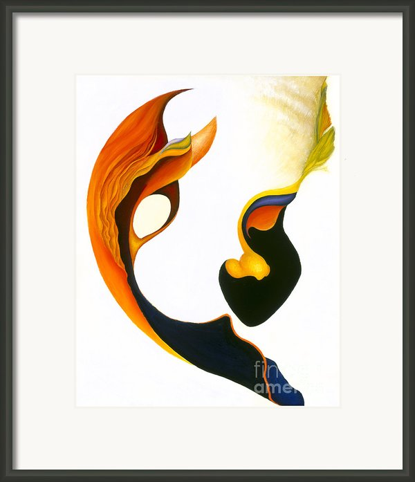 Peek-a-boo Framed Print By Joanna Pregon