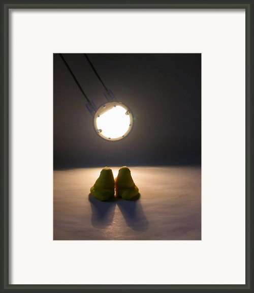 Peep Romance Framed Print By David April