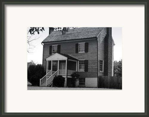 Peers House Appomattox County Court House Virginia Framed Print By Teresa Mucha