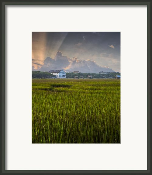 Pelican Inn Sunrise Framed Print By Ginny Horton