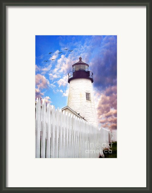 Pemaquid Point Framed Print By Darren Fisher