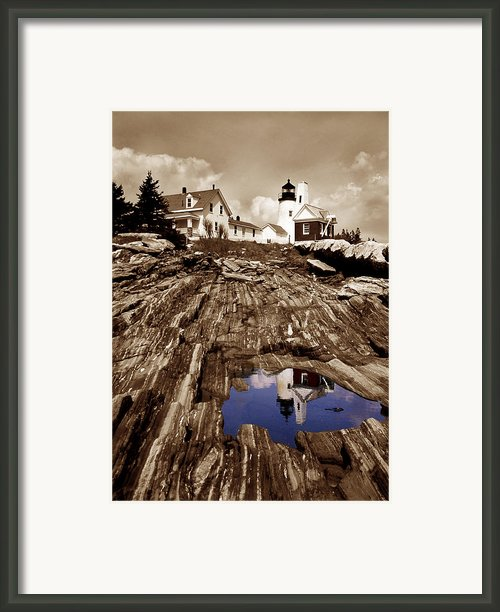 Pemaquid Framed Print By Skip Willits