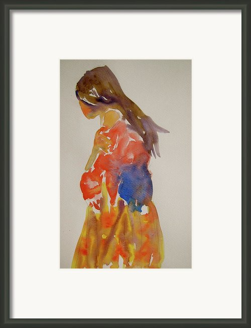 People Turned Away Framed Print By Beverley Harper Tinsley