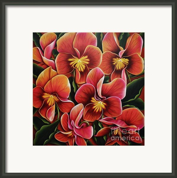 Perfect Love  Framed Print By Paula L
