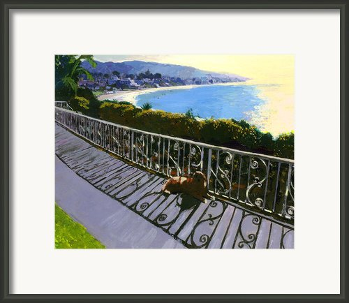 Permanent Fixture Framed Print By Michael Jacques