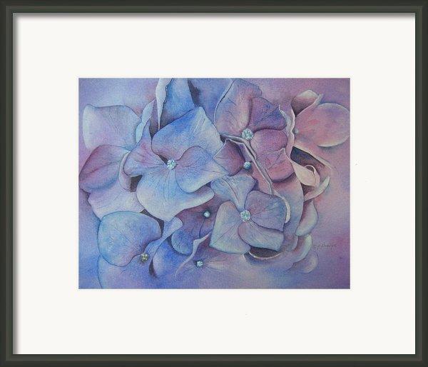 Petals Framed Print By Patsy Sharpe
