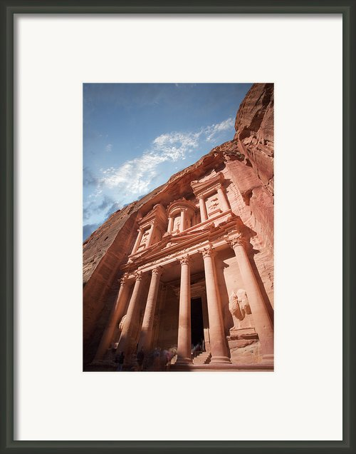 Petra, Jordan Framed Print By Michael Holst Images