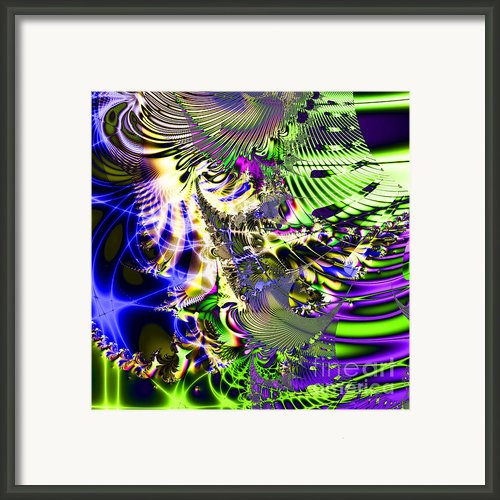 Phantasm . Square Framed Print By Wingsdomain Art And Photography