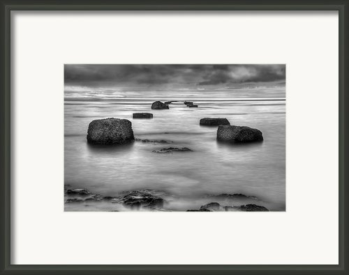 Phantom Pier Framed Print By Ryan Wyckoff