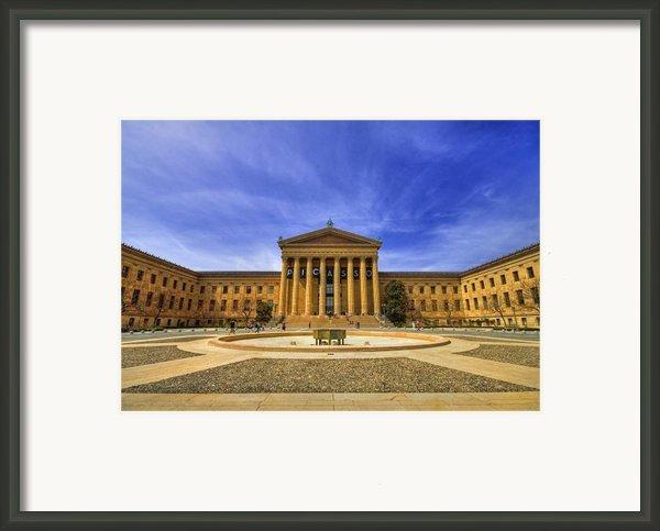 Philadelphia Art Museum Framed Print By Evelina Kremsdorf