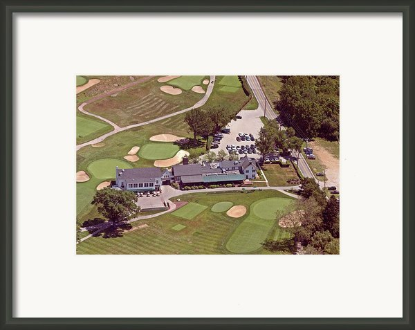 Philadelphia Cricket Club Flourtown Clubhouse 6075 W Valley Green Rd  Flourtown Pa  19031 Framed Print By Duncan Pearson