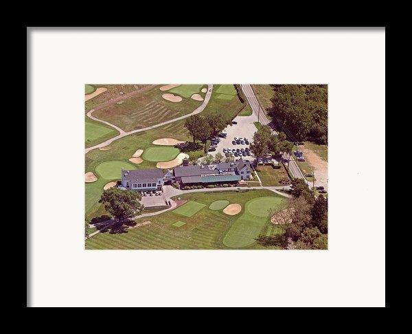 Philadelphia Cricket Club Flourtown Clubhouse 6075 W Valley Green Rd  Flourtown Pa  19031 Framed Print By Duncan Pearson