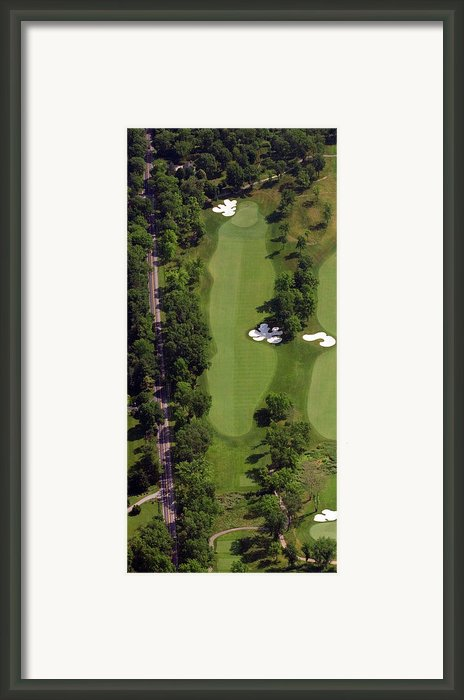 Philadelphia Cricket Club Militia Hill Golf Course 13th Hole Framed Print By Duncan Pearson