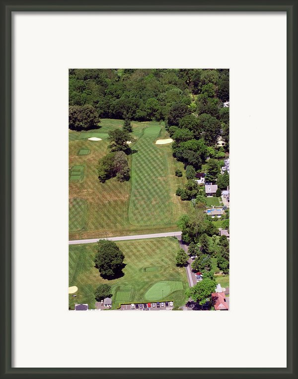 Philadelphia Cricket Club St Martins Golf Course 1st Hole 415 W Willow Grove Avenue Phila Pa 19118 Framed Print By Duncan Pearson